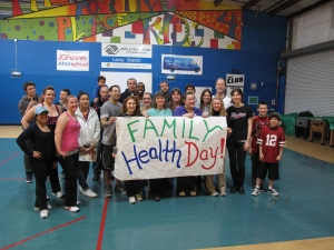 Family Health Day Volunteers